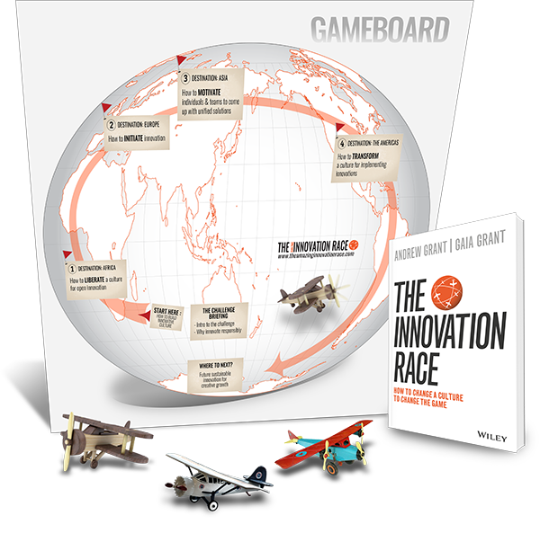 The Innovation Race 3D Display