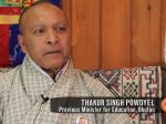 Podcast Interview: Thakur Singh Powdyel of Bhutan