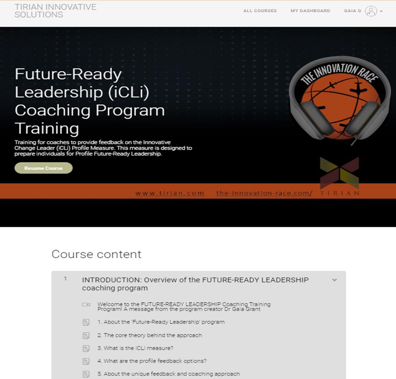 Innovate Future Ready Leadership Facilitated Workshop